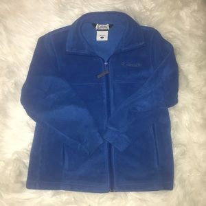 Blue Columbia Fall Zip up Jacket. Good Condition.